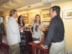 Carolina Galleries Owner Johnson Hagood entertains guests