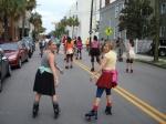Karen and Karin--Redux Novelty Rollerskate Parade
