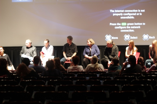 The Q&A panel