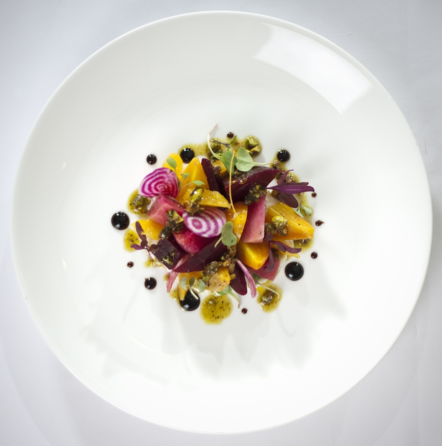 Fine dining charleston art mag 39 s blog for Art de cuisine plates