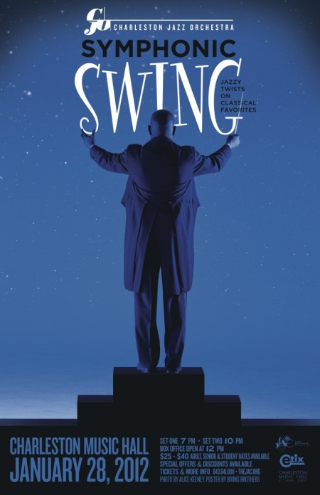 Charleston Jazz Orchestra Symphonic Swing